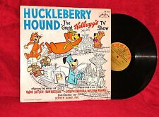 TV OST HUCKLEBERRY HOUND THE GREAT KELLOGG'S TV SHOW 1959 COLPIX VG++