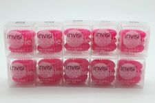 10x InvisiBobble The Traceless Hair Ring, 3 Count - Candy Pink (BNIB)