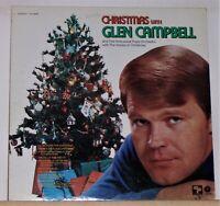 Christmas with Glen Campbell - 1971 Vinyl Lp Record Album