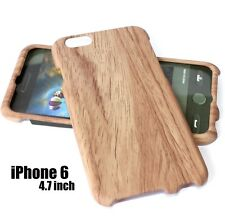 For iPhone 6 / 6S - HARD FITTED PROTECTOR SKIN CASE COVER BROWN WOOD OAK TREE