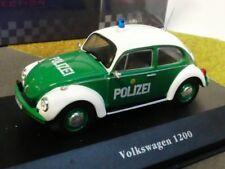 1/43 Ixo VW 1200 Käfer Polizei Deutschland POLICE CARS 8001