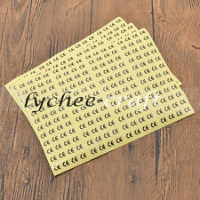3 Sheets CE Certificated Labels Circle Adhesive Sticker Tags Home Supplies