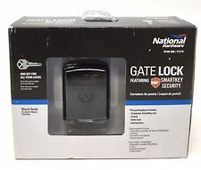 National Hardware Smartkey Security Gate Lock, Black, NEW (K2)