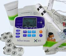 Reizstromgerät + Vaginalsonde Akupunkturstift elektrische Klemmen Kontaktgel