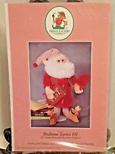 NEW Bedtime Santa Elf Doll Sewing PATTERN Elves Design Factory Holiday Christmas