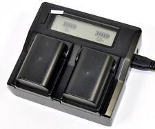 LCD Charger 2x Battery for Pentax D-li90 D-bc90 K-01 K01 K-3 K-5 II IIS K7 645d