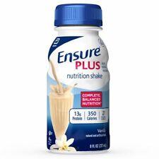 Ensure Plus Nutrition shake Vanilla Flavor 8 oz ( Pack of 12 )
