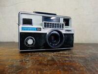 Working Vintage Kodak 126 Film Instamatic 804 Camera w/ Ektanar 38mm f/2.8 Lens