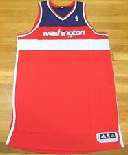 ADIDAS NBA REVOLUTION 30 WASHINGTON WIZARDS RED AUTHENTIC BLANK JERSEY 4XL+4