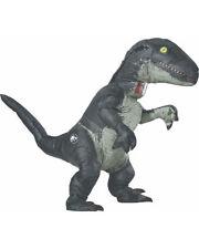 Jurassic World 2 Velociraptor Blue Inflatable Adult Costume With Sound Size STD