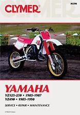Clymer Yamaha YZ125 YZ250 1985-1987 YZ490 1985-1990 M390 Repair Manual 70-0390