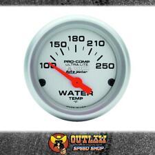 AUTOMETER U/LITE WATER TEMP 100-250O ELECTRIC 2 - AU4337