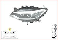 New Genuine BMW 2 Series F22 F23 F87 Masking Foil For Headlight Set 2284848 OEM