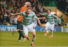 James FORREST SIGNED Autograph 12x8 Photo AFTAL COA CELTIC Scottish Premiership