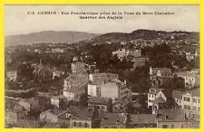 cpa FRANCE CANNES View from the Tour of Mont Chevalier District ENGLISH