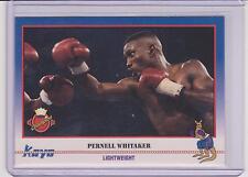 "1991 KAYO PERNELL ""SWEAT PEA"" WHITAKER BOXING CARD #80 ~ NORFOLK VA"