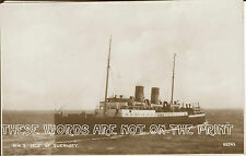 Vintage Postcard: R M. S  Isle of  Guernsey 1930's