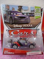 NEW 2013 Disney Pixar Cars MAX SCHNELL 10/17✿ purple✿  WGP World Grand Prix