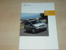 31334) Opel Meriva Zubehör Prospekt 2003
