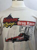 Vintage 90s 1996 Snap On Racing NHRA Firebird Phoenix T-Shirt - Discolored - XL