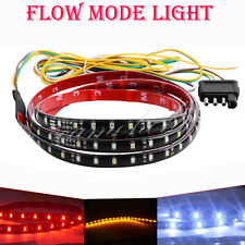 "40""Flexible 5 Function Tailgate Bar LED Strip Truck Brake Reverse Signal Light"