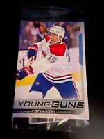 2018/19 Upper Deck Series 2 Jumbo Young Guns Jesperi Kotkaniemi #249