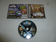 PLAYSTATION GAME LOONEY TUNES SHEEP RAIDER COMPLETE PS1 RALPH WOLF SAM SHEEP-DOG