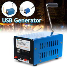 Portable USB Hand Shake Crank Power Generator  Emergency Phone Charger