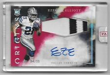 2016 Origins Red Ezekiel Elliott Jumbo 2 Color Patch Autograph RC #94/99  SEALED
