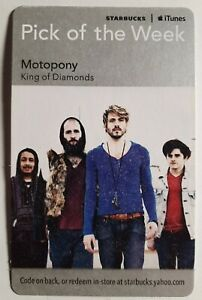 2011 MOTOPONY KING OF DIAMONDS STARBUCKS APPLE PICK OF THE WEEK CARD 02499