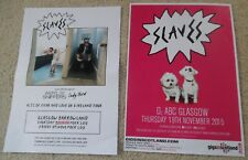 Slaves - poster JOB LOT bundle live music show concert gig tour posters