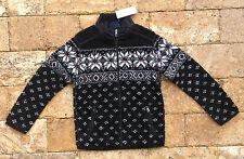 Ralph Lauren Boys' Nordic Bond Sherpa Snowflake Sweaters, Size S(8), $125