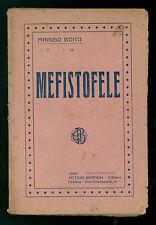 BOITO ARRIGO MEFISTOFELE BARION 1920 OPERA MUSICA CLASSICA SCAPIGLIATURA