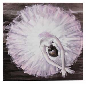 Wall Canvas Art Print - BALLET DRESS - 50cm x 50cm - matches Ballet Shoes canvas