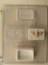 CUPID POUR BOX CLEAR PLASTIC CHOCOLATE CANDY MOLD V189