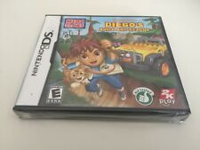 Mega Bloks: Diego's Build and Rescue (Nintendo DS, 2010) DS NEW