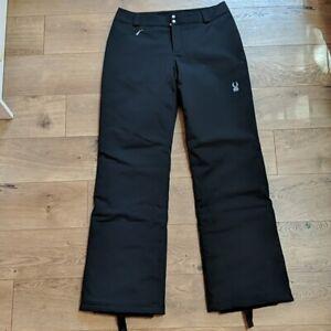 Spyder Women's Black Ski Snowboard Pants Size 8