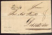 ÖSTERREICH 1840 VORPHILABRIEF von TEMESVAR nach DEBREZIN(D1075