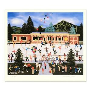 """Jane Wooster Scott """"Summer Cheer"""" Signed Limited Edition Lithograph on Paper"""