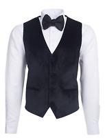 Jack Martin - Black Velvet Waistcoat