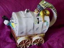 Richard Parrington Wild West covered wagon teapot