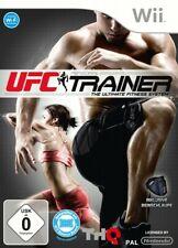 UFC entrenadores personales incluyendo pierna correa de Wii nuevo & OVP