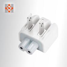 100% Genuine OEM Apple MagSafe AC Wall Adapter DUCKHEAD 2 PRONG PLUG 45W 60W 85W