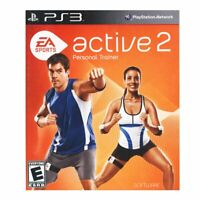 EA Sports Active 2 (Sony PlayStation 3, 2010) Complete Game With Manual PS3