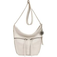 The Sak 166912 Womens Newport Casual Leather Bucket Shoulder Handbag Stone