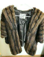 New listing 1950's La Belle Furs - Bolero Style Fur Coat