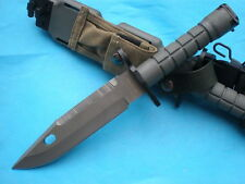 Heavy 6.5mm blade M9 Army Knives outdoor Multifunction Camping Knife 18FK189