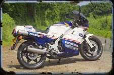 1986 ns400r Bike Motorcycle A4 Retro Metal Sign Aluminium