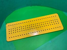 "Meccano,yellow base plate,13 1/2"" long,x 4 1/2"",classic vintage toy"