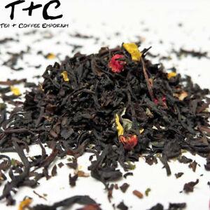 Strawberry Cream Tea - Premium Black Tea-Based Ceylon 25g - 1kg